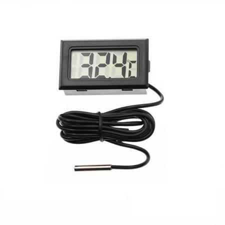 CYFROWY TERMOMETR ELEKTRONICZNY LCD Z SONDĄ